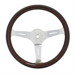 EMPI 79-4021-7 Dark Classic Wood Steering Wheel, 15 x 3, 31mm
