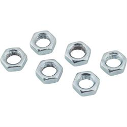 Steel Jam Nuts, 7/16 Inch-20 NF Fine Thread, Pack/6
