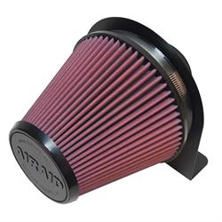 Airaid 100-202 Air Filter w/Mounting Brackets, 6 In Filter/3-1/2 Tube