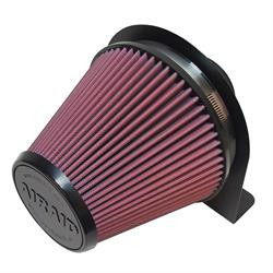 Airaid 100-203 Air Filter w/Mounting Brackets, 6 In Filter/4 In Tube