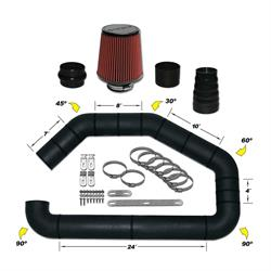 Airaid 101-302 U-Build-It Master Kit I Air Intake System, 3 Inch Tube
