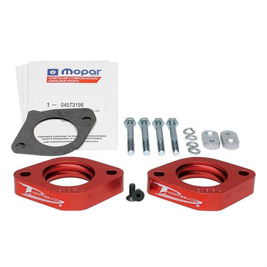 Airaid 300-562 Poweraid Throttle Body Spacer, Dodge 3.5L