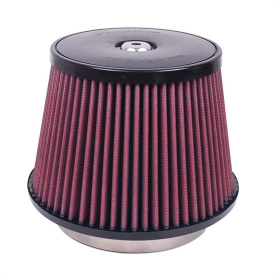 Airaid 700-030 SynthaFlow Air Filter, Red, 6in Tall, Tapered Conical