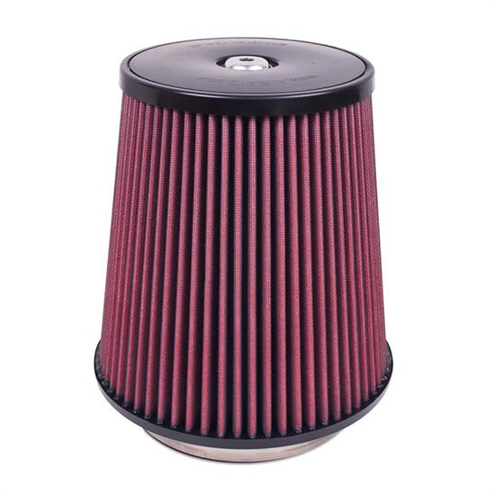 Airaid 700-031 SynthaFlow Air Filter, Red, 9in Tall, Tapered Conical
