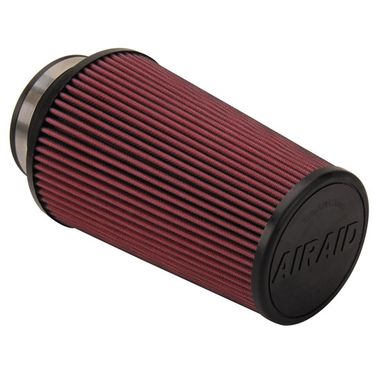 Airaid 700-410 SynthaFlow Air Filter, Red, 9in Tall, Tapered Conical