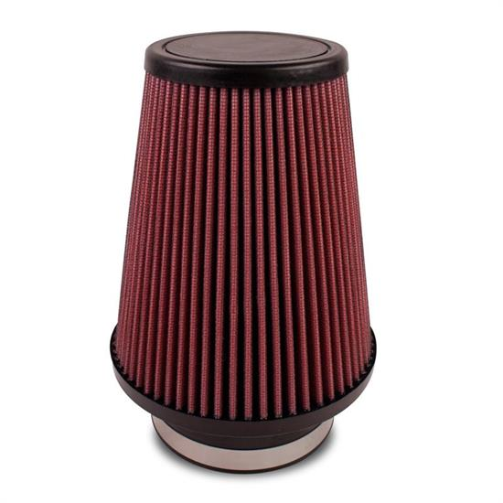 Airaid 700-411 SynthaFlow Air Filter, Red, 7in Tall, Tapered Conical