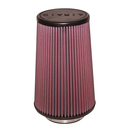 Airaid 700-421 SynthaFlow Air Filter, Red, 9in Tall, Tapered Conical
