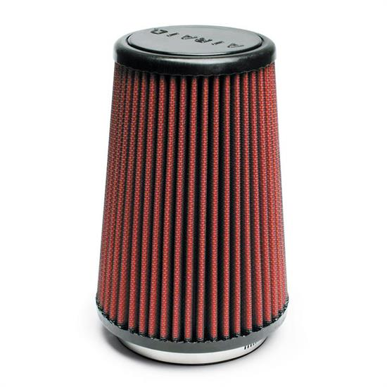 Airaid 700-430 SynthaFlow Air Filter, Red, 7in Tall, Tapered Conical