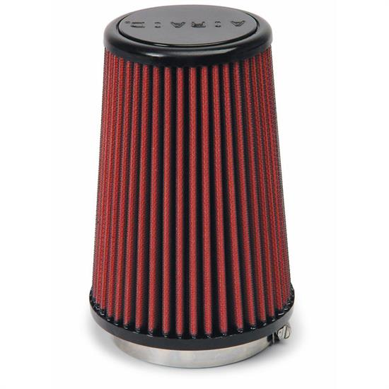 Airaid 700-433 SynthaFlow Air Filter, Red, 7in Tall, Tapered Conical