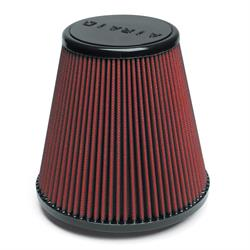 Airaid 700-445 SynthaFlow Air Filter, Red, 8in Tall, Tapered Conical