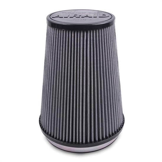 Airaid 700-450TD Racing Air Filter, Gray, 6in Tall, Tapered Conical