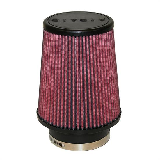 Airaid 700-456 SynthaFlow Air Filter, Red, 7in Tall, Tapered Conical