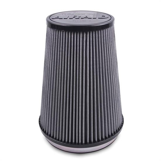 Airaid 700-458TD Racing Air Filter, White, 7in Tall, Tapered Conical