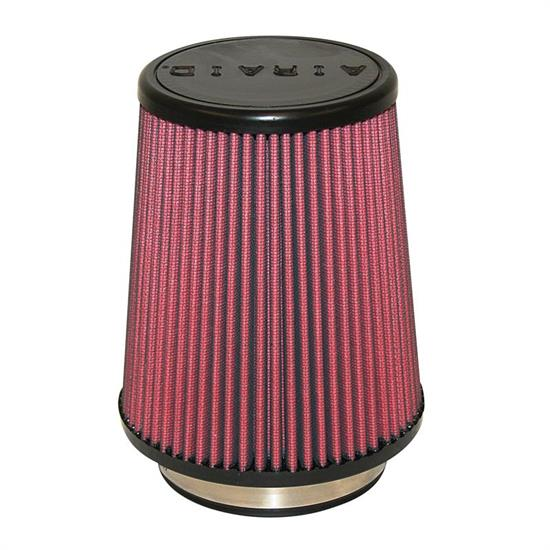Airaid 700-458 SynthaFlow Air Filter, Red, 7in Tall, Tapered Conical