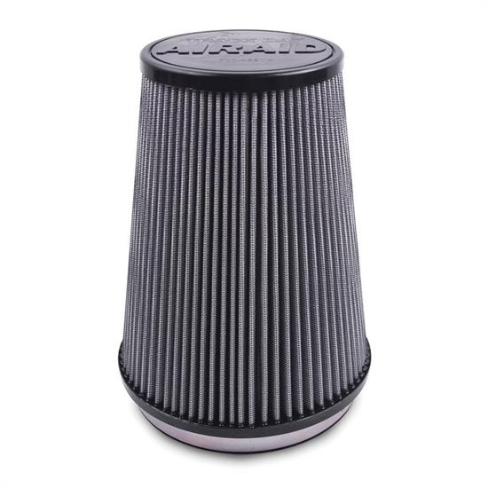 Airaid 700-469TD Racing Air Filter, Gray, 9in Tall, Tapered Conical