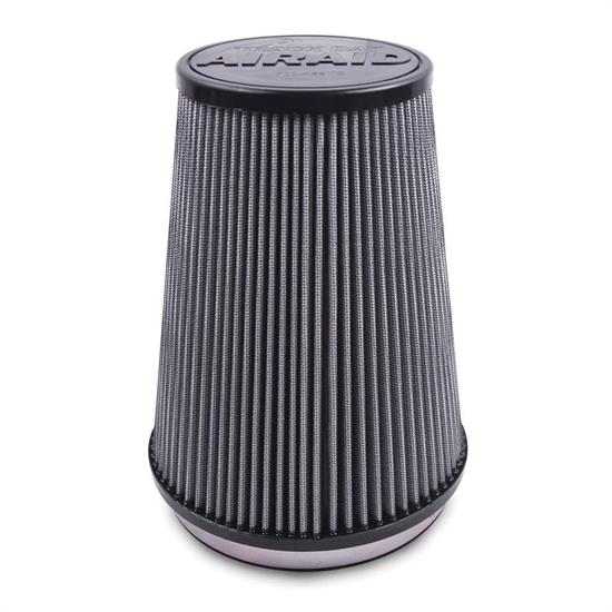 Airaid 700-471TD Racing Air Filter, White, 9in Tall, Tapered Conical