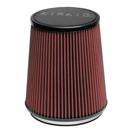 Airaid 700-474 SynthaFlow Air Filter, Red, 6.313in Tall, Round Tapered