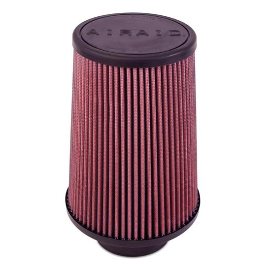 Airaid 700-492 Air Filter, Red, 8in Tall, Tapered Conical