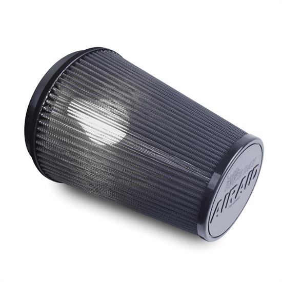 Airaid 700-494RD Race Day Air Filter, Gray, 6in Tall, Tapered Conical
