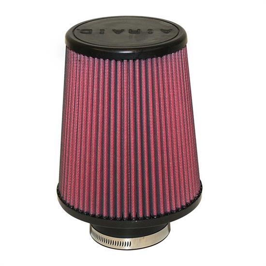 Airaid 700-494 SynthaFlow Air Filter, Red, 7in Tall, Round Tapered