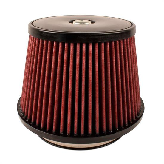 Airaid 700-497 SynthaFlow Air Filter, Red, 6in Tall, Round Tapered