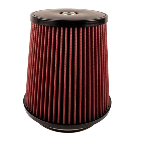 Airaid 700-498 SynthaFlow Air Filter, Red, 9in Tall, Round Tapered