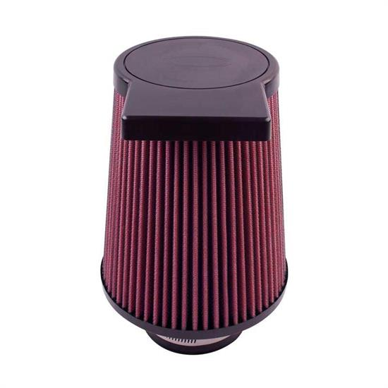 Airaid 700-538 SynthaFlow Air Filter, Red, 7.25in Tall, Round Tapered