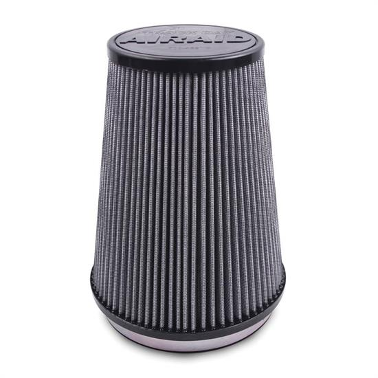 Airaid 700-539TD Racing Air Filter, Gray, 8in Tall, Tapered Conical