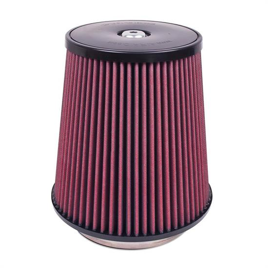 Airaid 701-031 SynthaMax Air Filter, Red, 9in Tall, Round Tapered