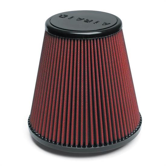 Airaid 701-445 SynthaMax Air Filter, Red, 8in Tall, Round Tapered