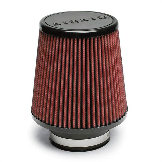 Airaid 701-450 SynthaMax Air Filter, Red, 6in Tall, Round Tapered