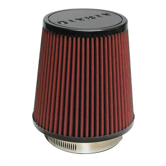 Airaid 701-452 SynthaMax Air Filter, Red, 6in Tall, Round Tapered