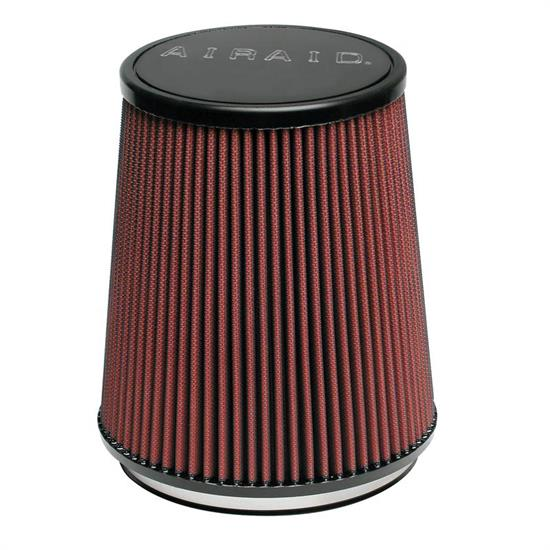 Airaid 701-474 SynthaMax Air Filter, Red, 6.313in Tall, Round Tapered