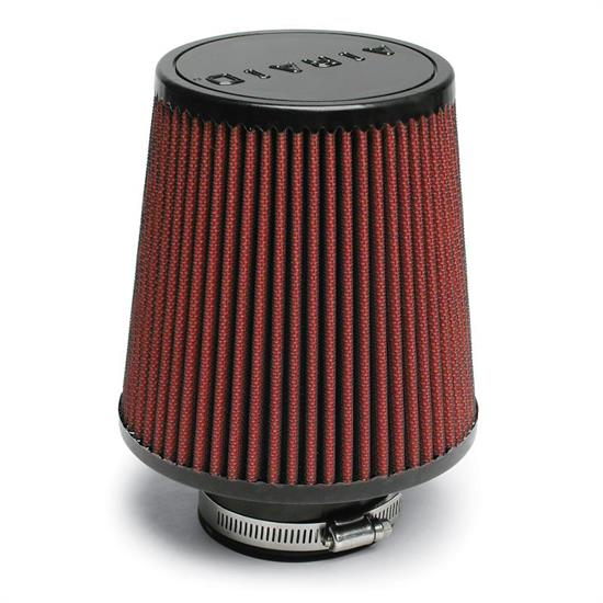 Airaid 701-493 SynthaMax Air Filter, Red, 6in Tall, Round Tapered