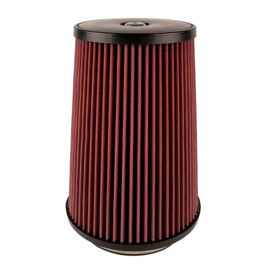 Airaid 701-499 SynthaMax Air Filter, Red, 12in Tall, Round Tapered