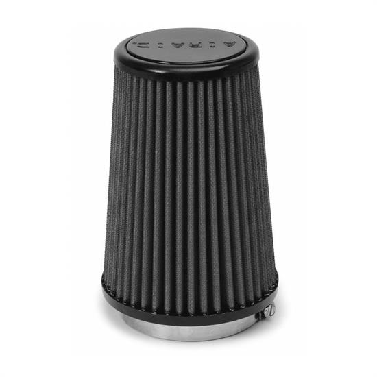 Airaid 702-433 SynthaMax Air Filter, Black, 7in Tall, Tapered Conical