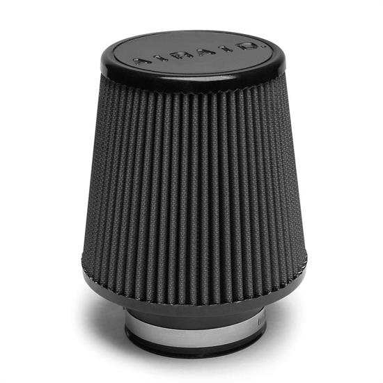 Airaid 702-450 SynthaMax Air Filter, Black, 6in Tall, Tapered Conical