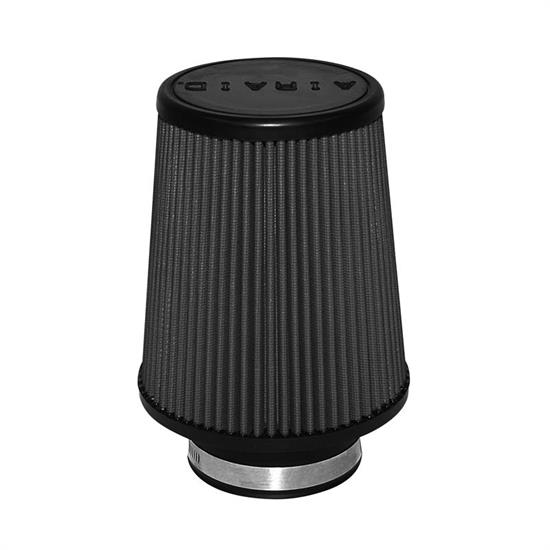 Airaid 702-451 SynthaMax Air Filter, Black, 7in Tall, Tapered Conical