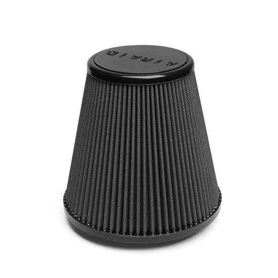 Airaid 702-455 Air Filter, Black, 6in Tall, Tapered Conical