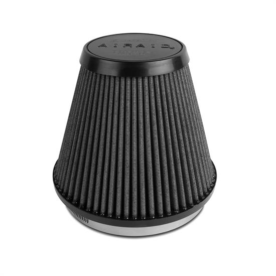 Airaid 702-466 SynthaMax Air Filter, Black, 6in Tall, Tapered Conical