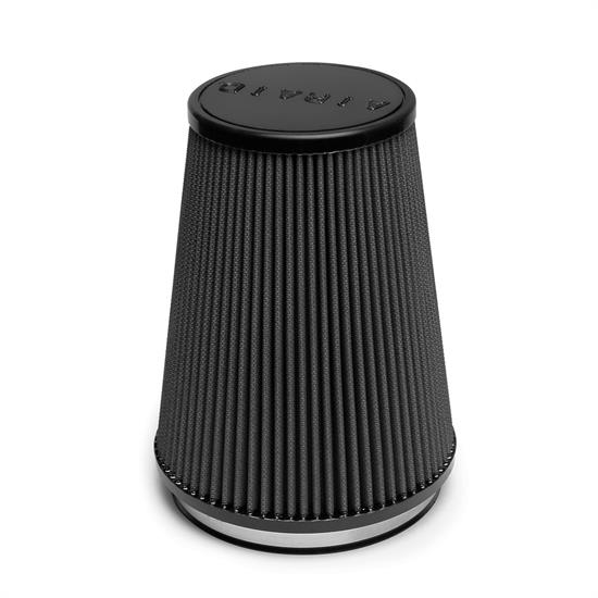 Airaid 702-469 Air Filter, Black, 9in Tall, Tapered Conical
