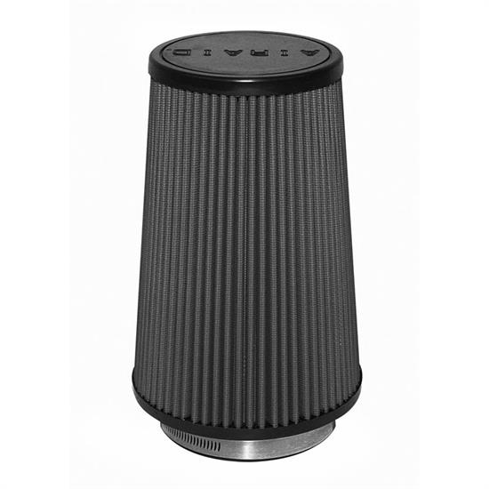 Airaid 702-471 SynthaMax Air Filter, Black, 7in Tall, Tapered Conical
