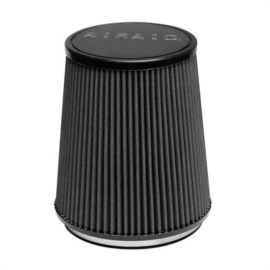 Airaid 702-474 SynthaMax Air Filter, Black, 6.5in Tall, Taper Conical