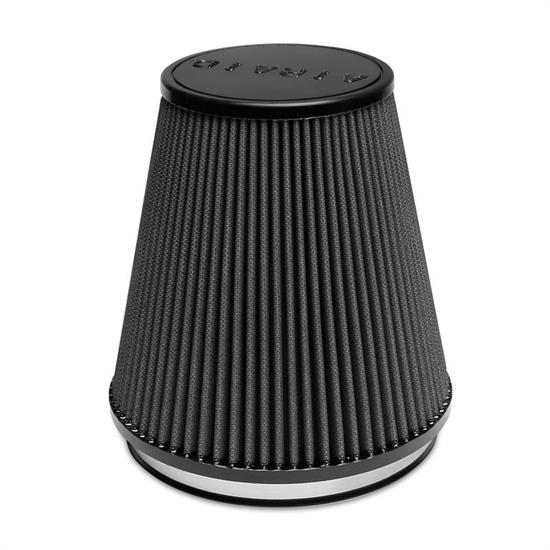 Airaid 702-495 Air Filter, Black, 7in Tall, Tapered Conical
