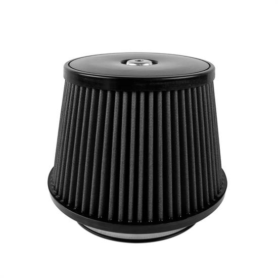 Airaid 702-497 SynthaMax Air Filter, Black, 6in Tall, Tapered Conical