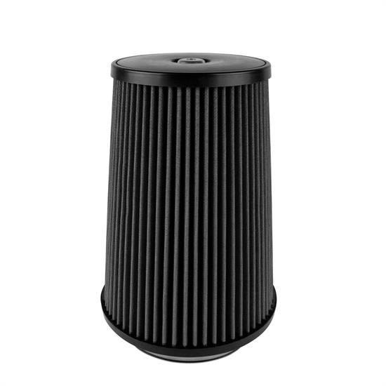 Airaid 702-499 SynthaMax Air Filter, Black, 12in Tall, Tapered Conical