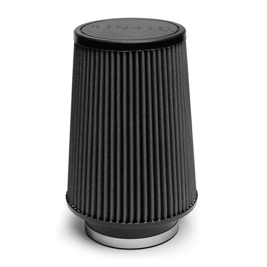 Airaid 702-539 SynthaMax Air Filter, Black, 8in Tall, Tapered Conical