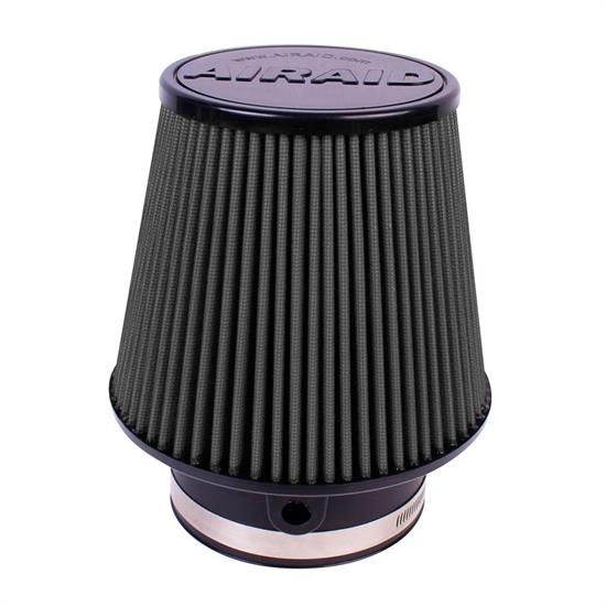 Airaid 702-581 SynthaMax Air Filter, Black, 6in Tall, Tapered Conical