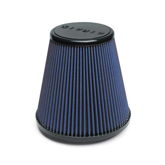 Airaid 703-445 SynthaFlow Air Filter, Blue, 7.5in Tall, Round Tapered