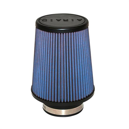 Airaid 703-451 SynthaFlow Air Filter, Blue, 7in Tall, Round Tapered